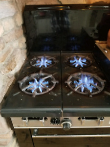 Garland natural gas stove