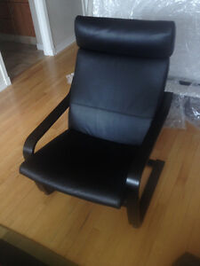 Leather Chair for Sale - $125 (Yaletown)