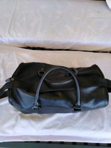 Vinyl Duffle Bag