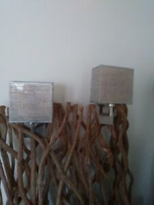 Wall sconces .