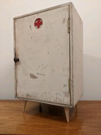 Mid century vintage bathroom cabinet first aid retro dansette legs woo