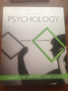 First Year PSYCHOLOGY - From Inquiry to Understanding  2nd ed
