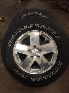 "Jeep Wrangler 18"" wheels & tires Kitchener / Waterloo Kitchener Area image 3"