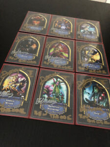 [RARE] 2014 Hearthstone Invitational Cards. SIGNED BY DEV
