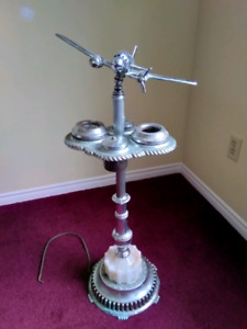 Vintage Airplane Ashtray Stand