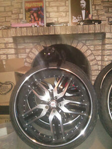 fit any dodge Chrysler rims and tires in good shape