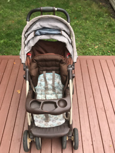 Poussette bebe avec chaise / Baby stroller with chair GRACO