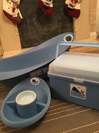 Mothercare Whale Bay Baby Bath set