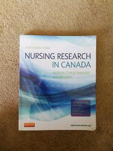 Nursing research in Canada. Third edition