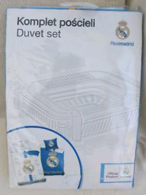 Real Madrid single bed reversible duvet set !