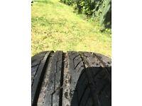 4x 255 35 19 tyres 2 basically new 2 very good