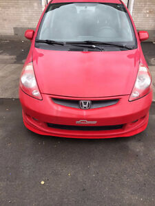 2007 Honda Fit Sport Berline 1.5L manuelle hatchback
