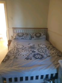 Double bed, Oak furniture land