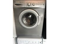 Silver beko washing machine 5kg