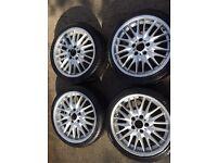"18"" bmw m sport wheels"