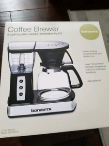 Bonavita BV01002US Coffee maker Brewer 8 Cup with Glass Carafe