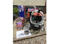 Sealey mighty mig 150 welder and accessories