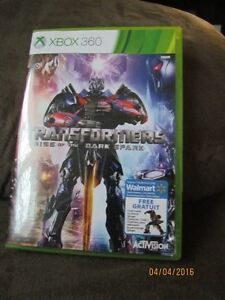 Xbox 360 Game: Transformers Rise of The Dark Spark