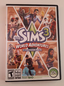 The Sims 3 World adventures (expansion pack)