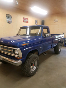 1971 ford f250  4x4