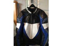 suomy motorbike leather jacket