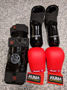 Children's Sparring Equipment and Gi