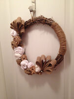 """""""Country Christmas"""" Wreath"""