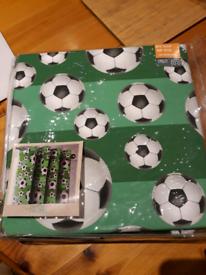 Football curtain (single) unused