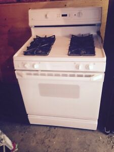 GE gas range stove self clean