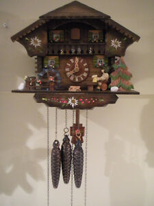 Cuckoo clocks Black Forest $160 and up, great condition.