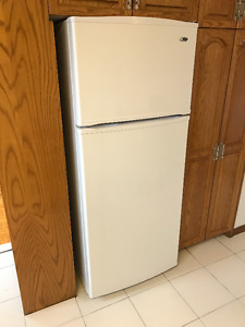 Refridgerator, stove oven, washer and dryer