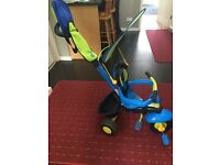 Smart trike outdoor toy bike 10-36 months parent push