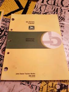 John Deere Series 60 Parts Book and Service Manual