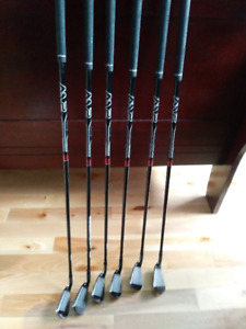 TaylorMade M2 Graphite Iron Set plus 4 and 5 M2 Rescue Like New