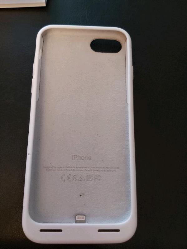 outlet store 2d3bf 3faac Apple iPhone 7/8 Smart Battery Case in White | in Sunderland, Tyne and Wear  | Gumtree