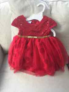 Brand new size 12 month baby girl dress with tags