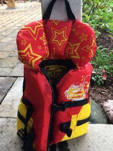 Veste flottaison ou flotte pour bébé 20-30 lbs