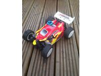 Nb16 nitro buggy rc car