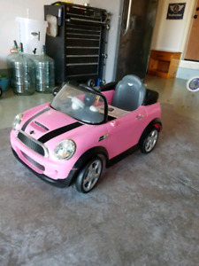 Power wheels type Mini Cooper