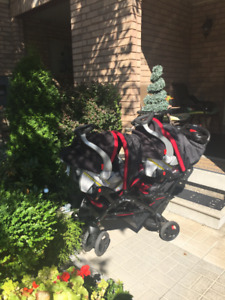 Sit 'N' Stand 3 in 1 Baby Stroller System