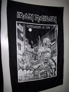 Vintage IRON MAIDEN Flag