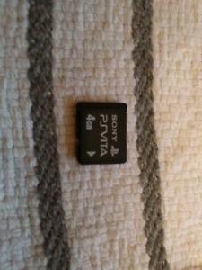 PS VITA 4GB memory card