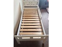 IKEA Toddler Bed - White reduced price collection tomorrow