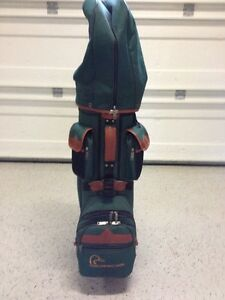 Ducks Unlimited golf bag and clubs