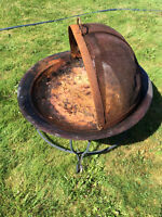 FIREPIT - BOWL, STAND and COVER