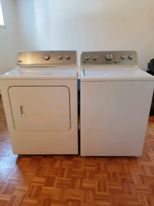 Maytag centennial laveuse secheuse