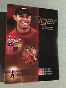Tiger Woods DVD collection