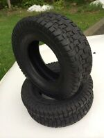 New lawn tractor tires