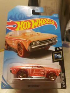 Hot wheels treasure hunt 69 Chevelle orange