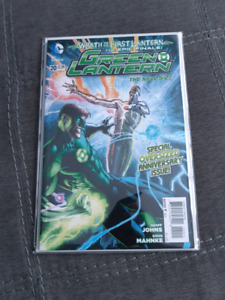 Green Lantern #20 Near Mint In Mylar.